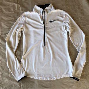 Nike Pro Dri-Fit White Pullover